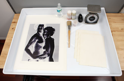 The Making of a Cyanotype